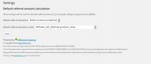 affg-affiliates-settings